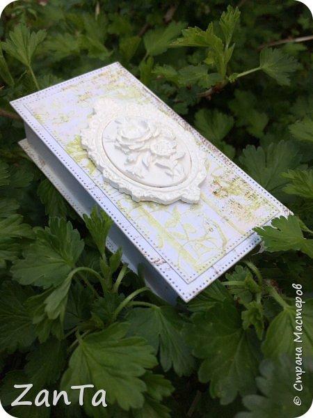 В этом посте покажу коробочки, которые у меня сотворились. Это Magic box на рождение принцессы. фото 17