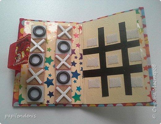 """Здравствуйте. Давно хотела сделать карманную игру """"крестики-нолики"""". Спасибо Оксане, что организовала совместник по АТСкам. В качестве первого этапа у меня получились вот такие книжечки-игрушки.  Сделала их аж 12 штук. Семь обменяю в совместнике, одну оставлю себе, остальные раздарю знакомым детишкам. Ну что, ать-два? :-) фото 24"""