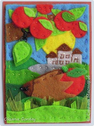 """Это мои карточки по первому этапу игры """"Детские игрушки в формате АТС"""" (об игре можно прочитать здесь  - http://stranamasterov.ru/node/1098610 ) . Вдохновившись фетровыми детскими книжками-развивайками, сделала вот таких ежиков. фото 11"""