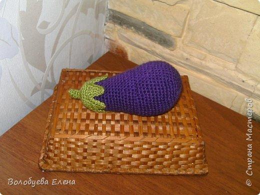 Мои авторские овощи связанные для деток. акрил, крючок №2 фото 3