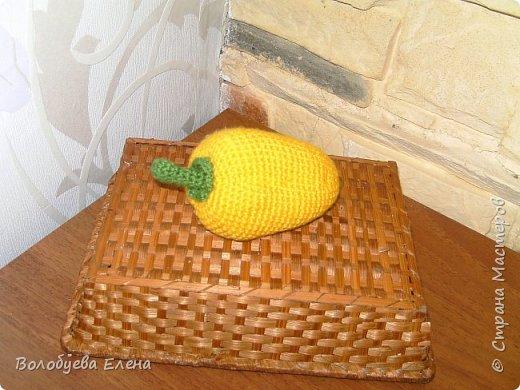 Мои авторские овощи связанные для деток. акрил, крючок №2 фото 4