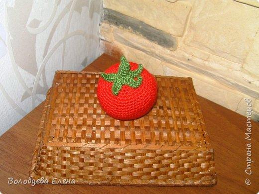 Мои авторские овощи связанные для деток. акрил, крючок №2 фото 6