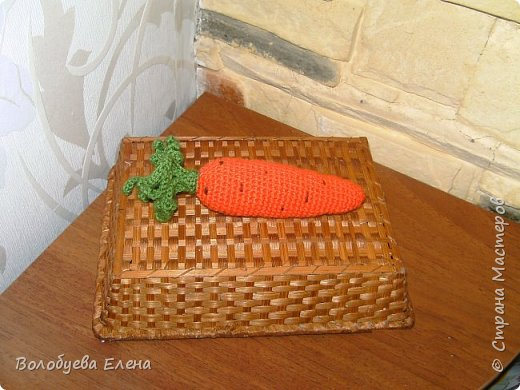 Мои авторские овощи связанные для деток. акрил, крючок №2 фото 7