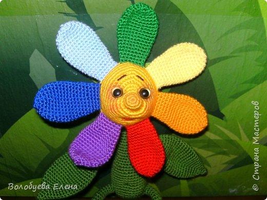 Цветик был связан в он-лайне на Меджикленд.су. Автор игрушки Nastya oren фото 3