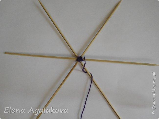 Хочу показать плетение Мандалы-Бабочки. Это достаточно простое плетение, которое несложно освоить.  Бабочка — символ души, бессмертия, возрождения и воскресения, способности к превращениям, к трансформации, символ жизни, любви и счастья. Бабочки очень гранциозные создания! Эта мандала украсит ваш дом и будет радовать вас в любое время года! фото 6