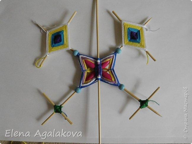 Хочу показать плетение Мандалы-Бабочки. Это достаточно простое плетение, которое несложно освоить.  Бабочка — символ души, бессмертия, возрождения и воскресения, способности к превращениям, к трансформации, символ жизни, любви и счастья. Бабочки очень гранциозные создания! Эта мандала украсит ваш дом и будет радовать вас в любое время года! фото 35