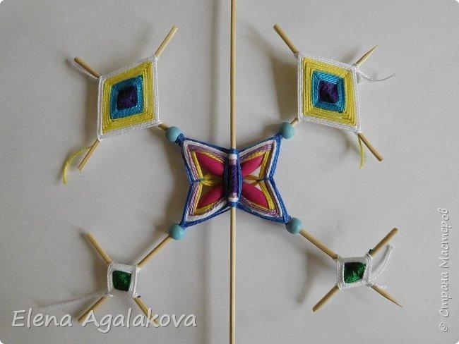 Хочу показать плетение Мандалы-Бабочки. Это достаточно простое плетение, которое несложно освоить.  Бабочка — символ души, бессмертия, возрождения и воскресения, способности к превращениям, к трансформации, символ жизни, любви и счастья. Бабочки очень гранциозные создания! Эта мандала украсит ваш дом и будет радовать вас в любое время года! фото 36