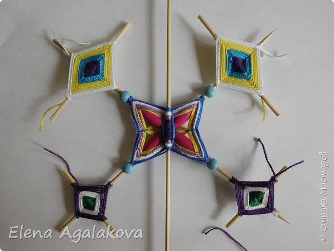 Хочу показать плетение Мандалы-Бабочки. Это достаточно простое плетение, которое несложно освоить.  Бабочка — символ души, бессмертия, возрождения и воскресения, способности к превращениям, к трансформации, символ жизни, любви и счастья. Бабочки очень гранциозные создания! Эта мандала украсит ваш дом и будет радовать вас в любое время года! фото 37
