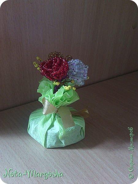 Букетик роз фото 2