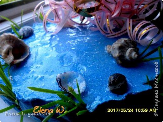 3олотая рыбка!!! Поделка в садик дочки! фото 6