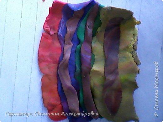Сказочная совушка из пластилина фото 2