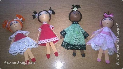 Куклы-магнитики