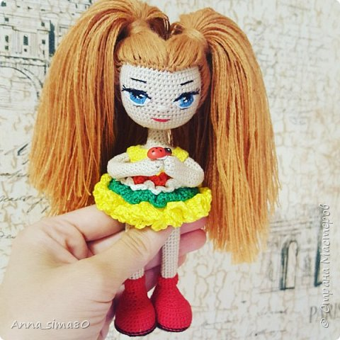 Куклы вязаные крючком фото 5