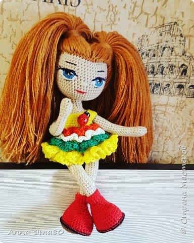 Куклы вязаные крючком фото 3