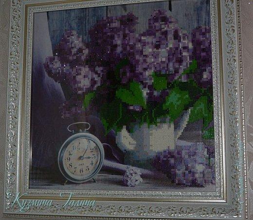 Кузина решила познакомить меня с новым видом творчества и подарила набор с алмазной вышивкой. фото 1