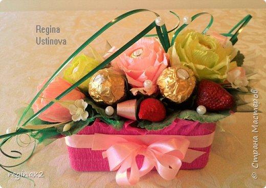 корзины из конфет фото 4