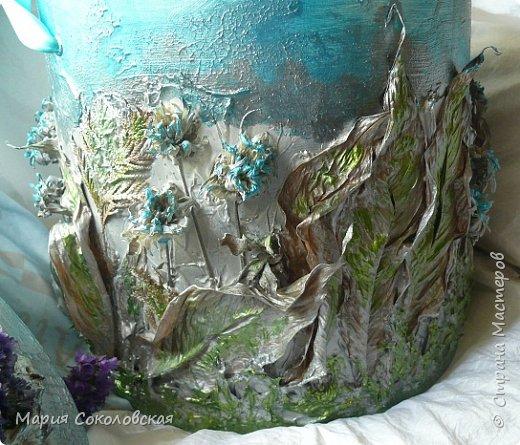 """Приветствую! Хочется поделиться своей новой работой - коробочка """"Разнотравье на лугу"""" в технике терра. фото 8"""
