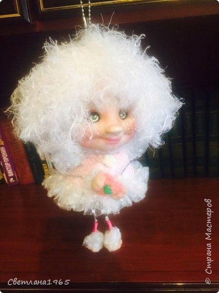 Приветствую !Простенькая куклеха...ножки,ручки на веревочках фото 2