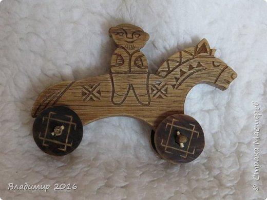 Деревянная игрушка фото 2