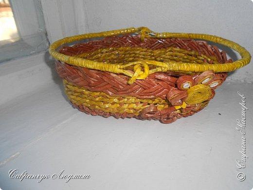 плетение из бумажных трубочек фото 2