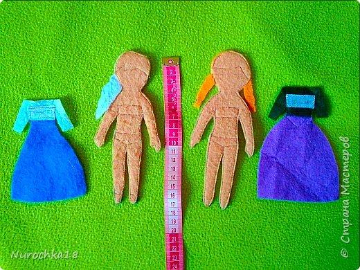 """Здравствуйте все жители страны мастеров. Хочу поделиться с вами одной работой. Это работа моей сестры. Она на сайте не зарегистрирована, но была не против размещения своей работы здесь. Мне кажется, что эту работу должны увидеть многие. Представляем вашему вниманию кукольный домик из фетра, сделанный для фетровых кукол Анны и Эльзы (по мотивам мультфильма """"Холодное сердце""""). Кукольный домик сделан ко дню рождения моей племянницы. фото 7"""