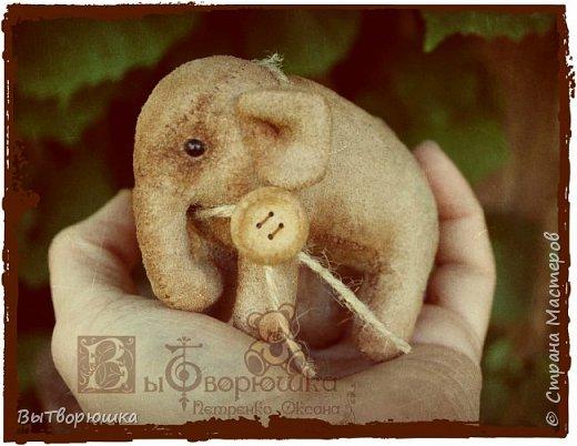 Вот такая семейка у меня появилась благодаря совместному пошиву Хотьковского слоника у замечательного мастера Виктории Макаровой.)  фото 7
