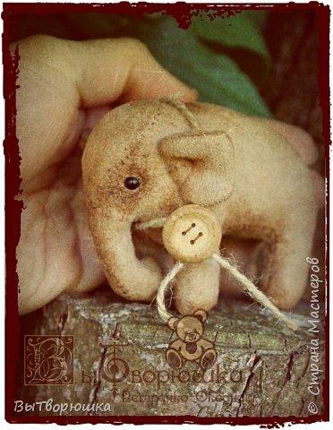 Вот такая семейка у меня появилась благодаря совместному пошиву Хотьковского слоника у замечательного мастера Виктории Макаровой.)  фото 8