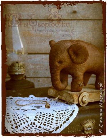 Вот такая семейка у меня появилась благодаря совместному пошиву Хотьковского слоника у замечательного мастера Виктории Макаровой.)  фото 6