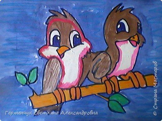 "Раскраски  птицы  ребят  4""В"" класса фото 4"