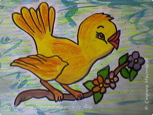 "Раскраски  птицы  ребят  4""В"" класса фото 6"