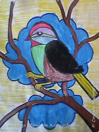 "Раскраски  птицы  ребят  4""В"" класса фото 10"
