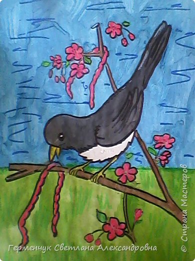 "Раскраски  птицы  ребят  4""В"" класса фото 14"
