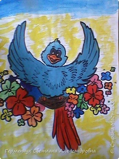 "Раскраски  птицы  ребят  4""В"" класса фото 15"