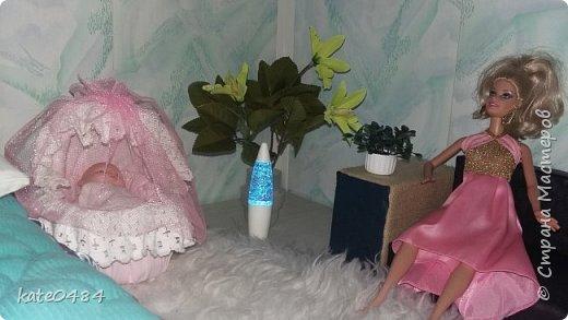 Кровать для Барби фото 11
