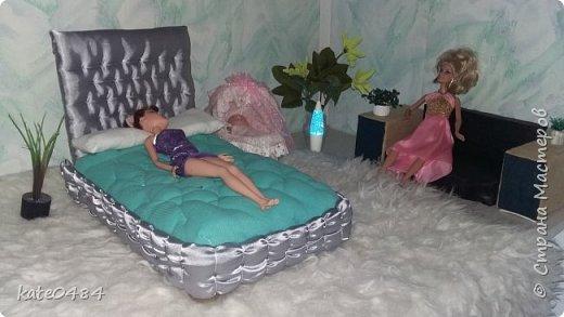 Кровать для Барби фото 9