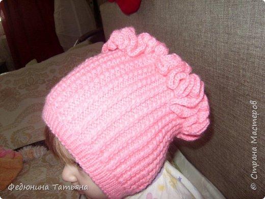 шапочка на весну, пряжа  Пехорка Детский каприз фото 1