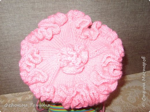 шапочка на весну, пряжа  Пехорка Детский каприз фото 2