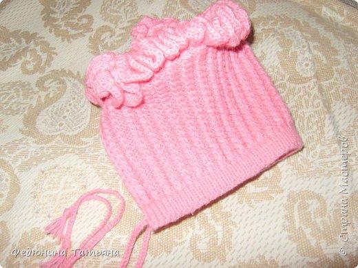 шапочка на весну, пряжа  Пехорка Детский каприз фото 3