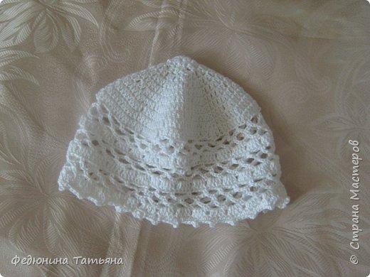 шапочка на весну, пряжа  Пехорка Детский каприз фото 4