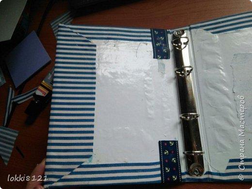 У меня случилась мания переделки и я разодрала обложку своего тревел-бука (http://stranamasterov.ru/node/1019947) и полностью ее переделала, заодно добавила вставочек и внутри :)  Весь процесс переделки зафотографировала, чтобы поделиться :)  фото 6