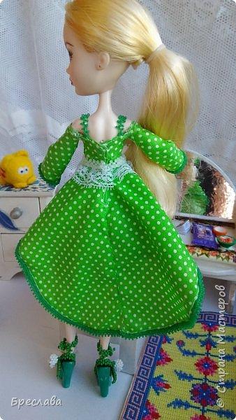 "Наряд на куклу ЕАХ ""Ландыш"" фото 2"