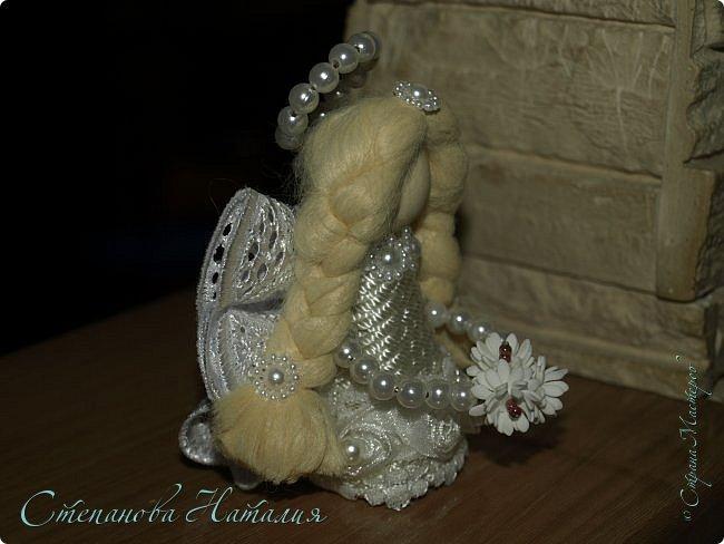 Добрый день, у меня родился ангел! Это моя авторская работа, думаю делать таких в пару к колясочкам))) фото 4