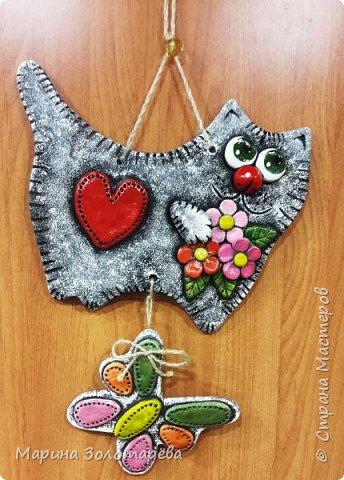 Здравствуй,Страна! Я к тебе в гости с котишками-любишками, прошу любить их и жаловать) Сотворился этот красавчик по мотивам котов Ольги Родионовой. фото 6