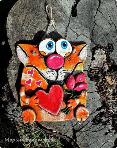 Здравствуй,Страна! Я к тебе в гости с котишками-любишками, прошу любить их и жаловать) Сотворился этот красавчик по мотивам котов Ольги Родионовой. фото 2