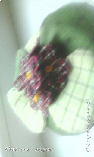 Это баночки для сыпучих продуктов.баночки оплела,крышечки-обклеила тканью и покрыла все лаком фото 10
