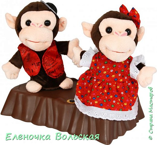 Вот такие Врачи - обезьянки у меня получились фото 2