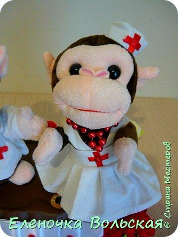 Вот такие Врачи - обезьянки у меня получились фото 4