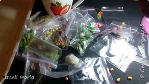 здравствуйте любители мастерить! сегодня я вам покажу овощи для кукол 1:6 . вот такой вот огород мы набрали фото 5