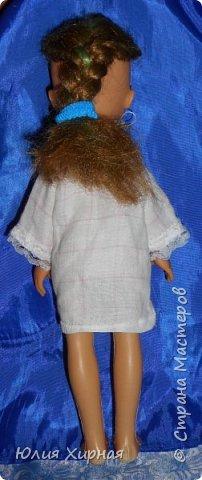 Во так я обшила очередную куклу фото 6