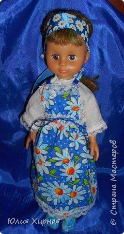 Во так я обшила очередную куклу фото 15